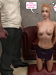 Fuck, even your face feels amazing on my cock - Christian knockers by Dark Lord