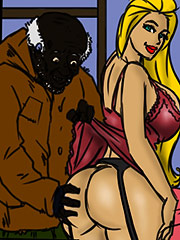 Such a tight white pussy - Merry Christmas by Illustrated interracial