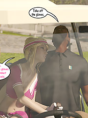 We don't want any of your cum in the golf cart - Christian knockers by Dark Lord