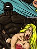 Please don't go any deeper - Farm girl by Illustrated interracial